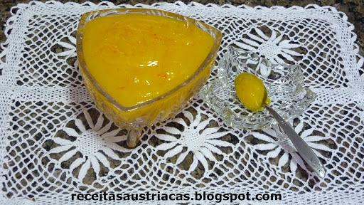 GELEIA DE LIMÃO - Zitronen-Gelee
