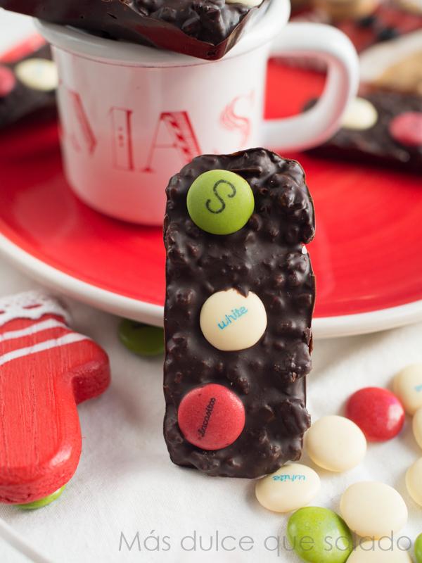 Chocolate Christmas Bars