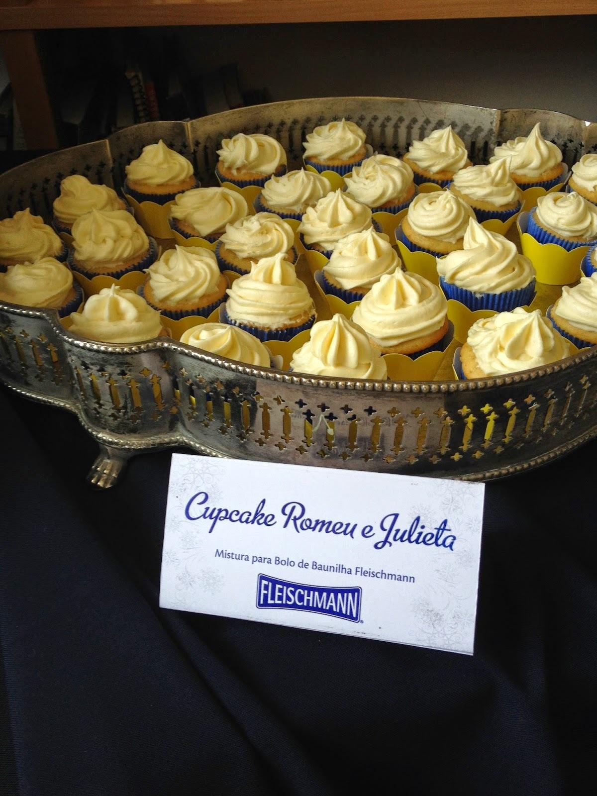 Cupcake Romeu e Julieta