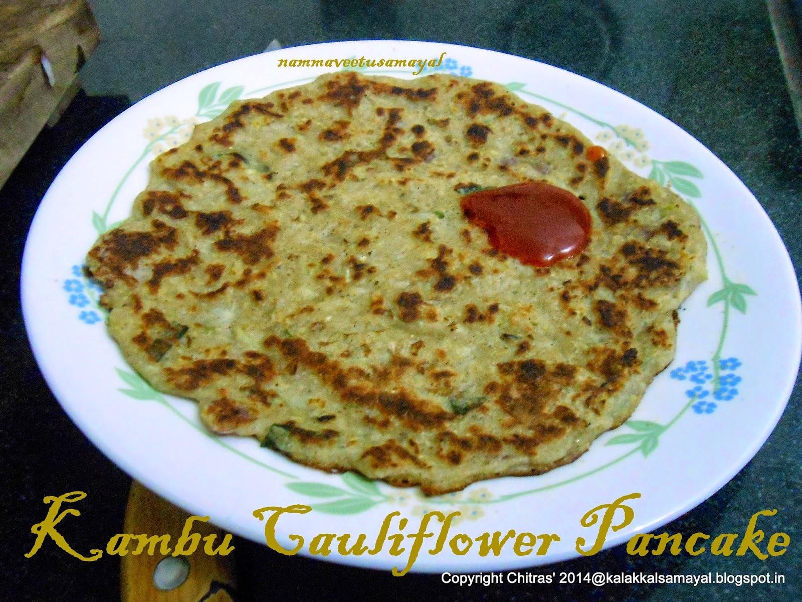 Kambu-Cauliflower-Pancake