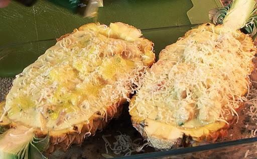 abacaxi frito no azeite