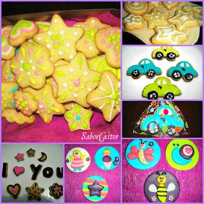 como fazer biscoitos decorados com pasta americana