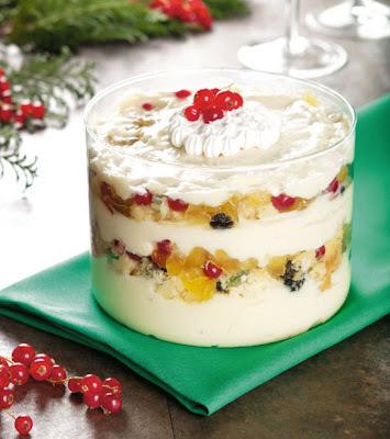 Creme Gelado de Panetone - sobremesas de natal, receitas natalinas
