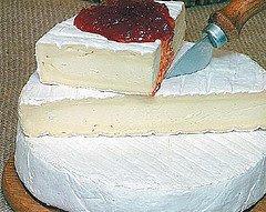 pate de queijo brie