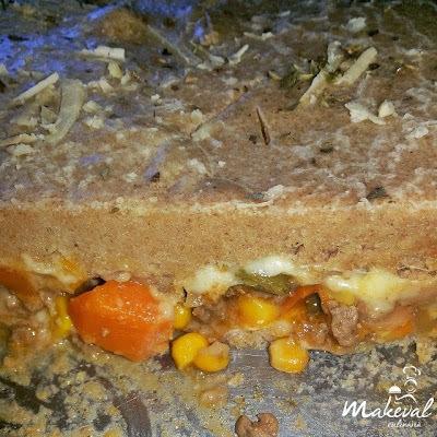 Torta Integral de Legumes
