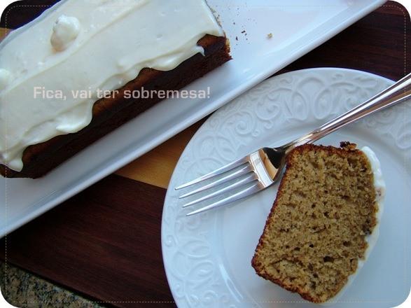 bolo simples de melado