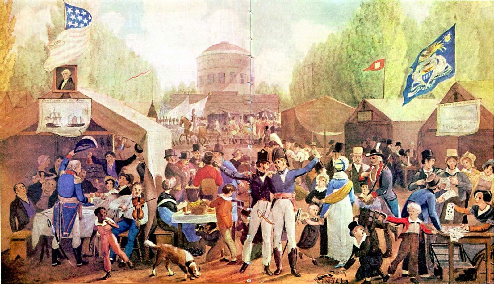 Recettes pour le pique-nique de l'independence day, 4 juillet, la fête nationale des Etats-Unis