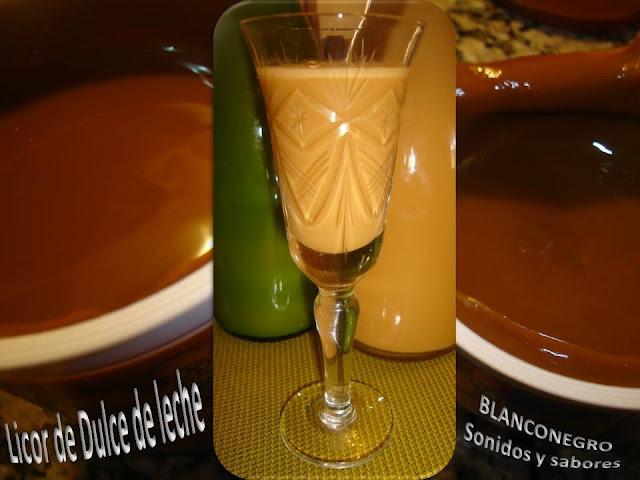 Licor de dulce de leche