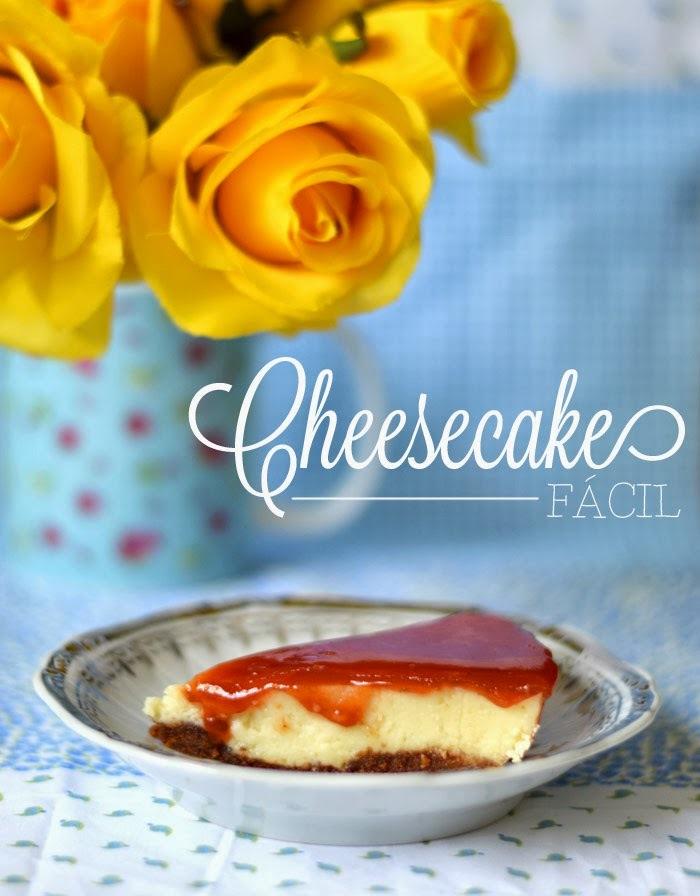 {cozinha preguiçosa} Cheesecake fácil