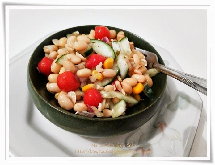 Salada de Soja e Pimenta Biquinho