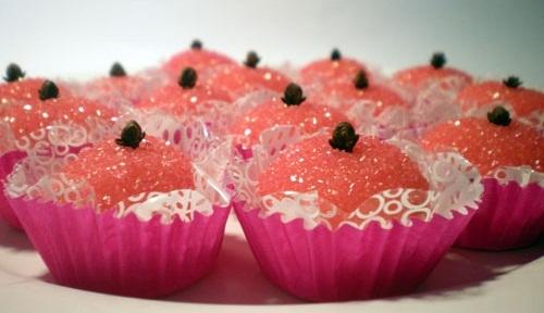 beijinho doce cor de rosa