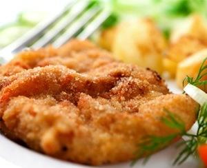 peito de frango a milanesa no forno
