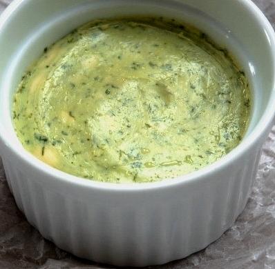 Manteiga de Alho e Coentros