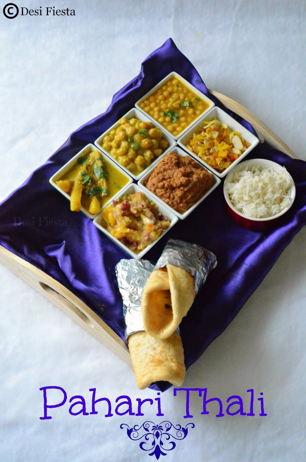 Himachal Pradesh Thali | Pahari Thali | Simple Himachal Pradesh Lunch Thali