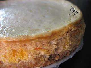 Gâteau au fromage à l'orange et à l'érable