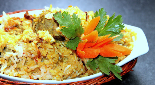 Hyderabadi Mutton dum biriyani  |  Kukskitchen
