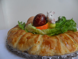 Kuvarijacije - Vijenac od jaja, brokule i šunke
