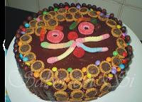 Bolo de Chocolate Aniversário