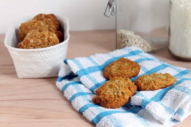 Biscuits Anzac: galletitas de avena, coco y miel... y un Grazias