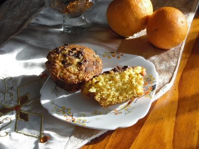 orange choc chip muffins nz