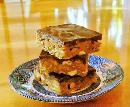 Goody Goody Bars - A  Simple No-Bake Confection