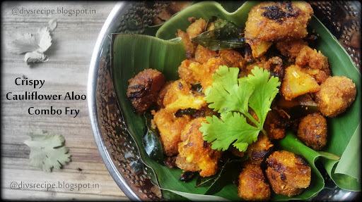 Crispy Gobi Aloo Fry