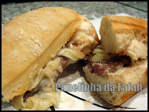 Prego - Sanduiche  de  filé