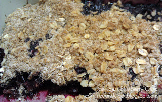 RECIPE OF THE WEEK: BLUEBERRY CRISP
