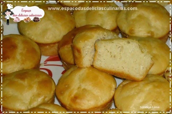 Pãozinho simples sem sovar a massa