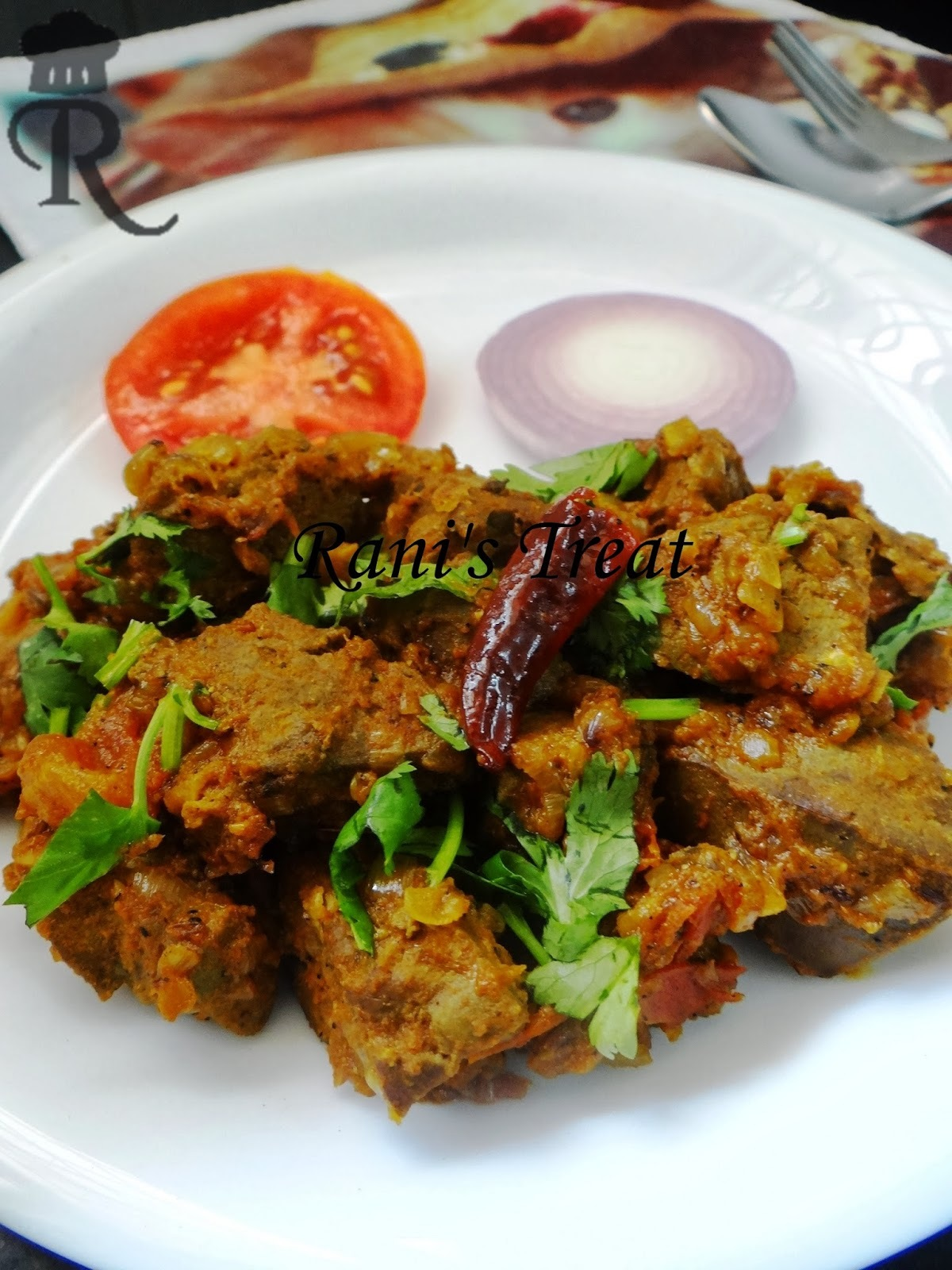 Mutton Liver Masala | Goat Liver Fry | Earal Masala | Mutton Kaleji Fry