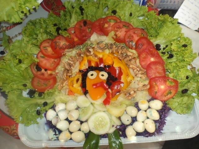 Salada Peru de Natal