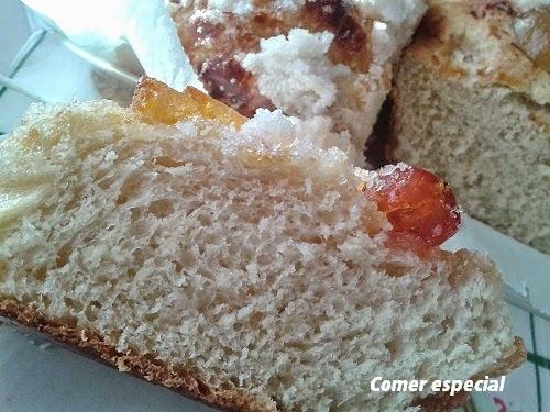 El mejor roscón de Reyes sin lactosa que he comido