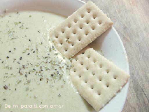 Receta: Sopa crema de arvejas