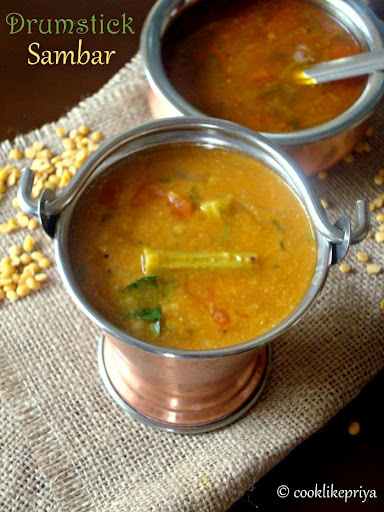 Home-style Sambar | South Indian Sambar | Perfect Vegan Indian Curry