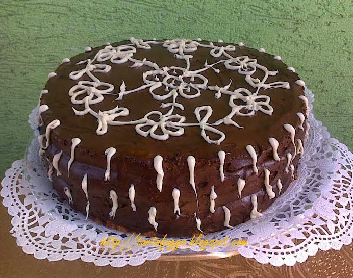 Csokikrémes születésnapi torta