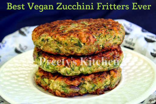 Best Vegan Zucchini Fritters Ever