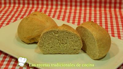 Receta fácil de pan integral casero