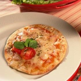 de massa de pizza com royal frigideira
