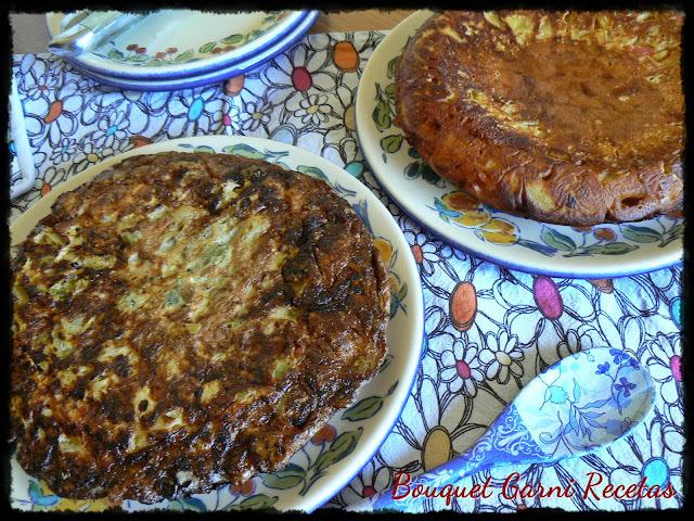 Menú del día: Tortillas