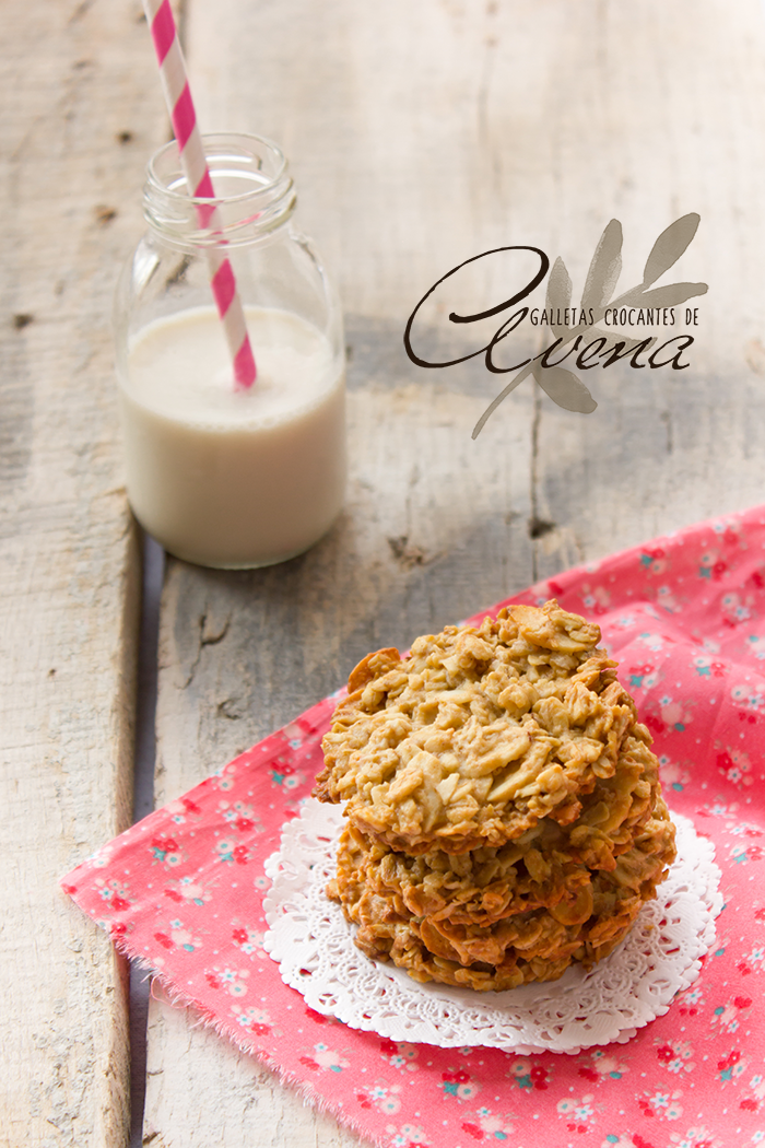 Galletas Crocantes de Avena