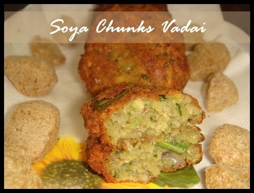 Soya Chunks Vada | Mom's Bookmarked Recipe