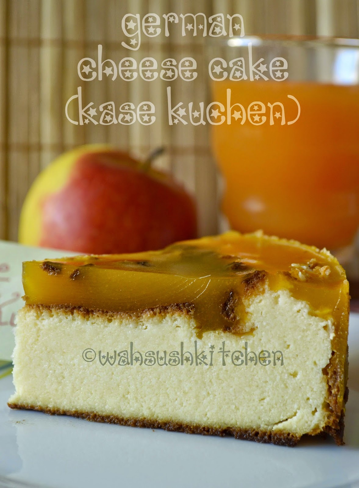 German Cheese Cake(Kase kuchen)