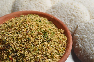 Kothmira Karam Podi (Coriander Leaves Powder )