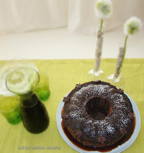 Chocolate Zucchini Cake (Bolo de Chocolate e Zucchini)