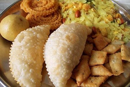 Diwali faral marathi recipe |Deepawali  easy Sweets snacks  namkeen