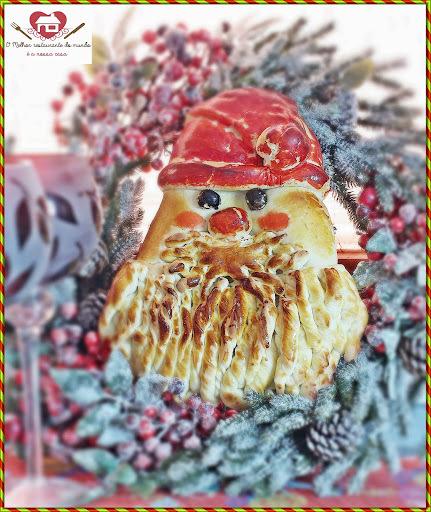 Receita de Pão de Papai Noel para o Natal (Golden Santa Bread)