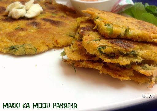Makki Ka Mooli Paratha