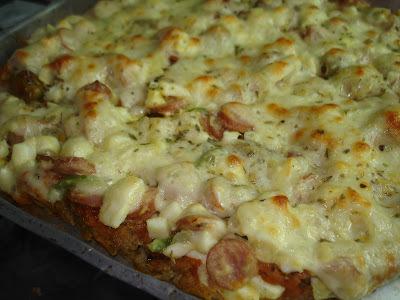 Pizza de Couve-flor: tem sabor com saúde e não leva farinha!