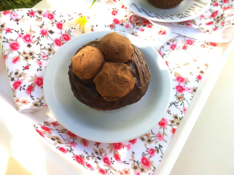 Cupcake de Chocolate Trufado