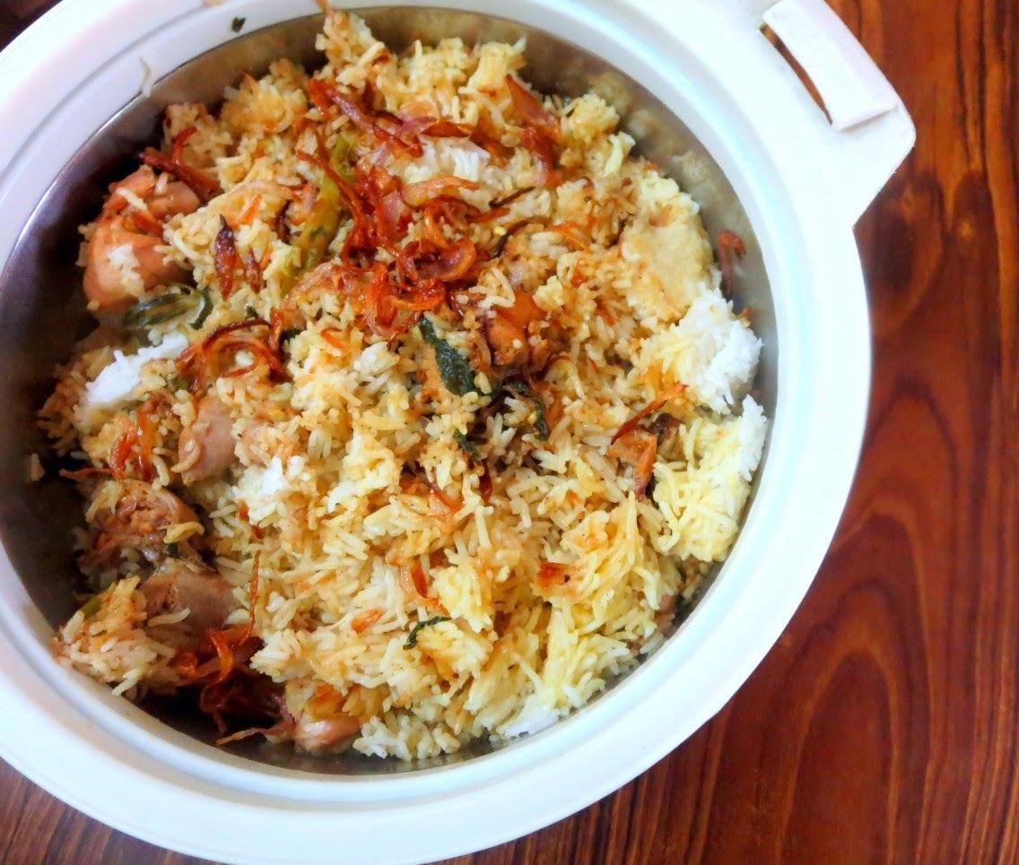 easy chicken biryani basmati rice